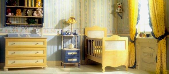 Camerette in legno naturale soppalco nido di cinius per - Camerette di legno ...